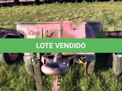 LOTE 028 - REBOQUE, MARCA SANVAS / MODELO MK 250W,  ¼ Ton, 2 Rodas ; ANO: 1974 ; CHASSI: 08475