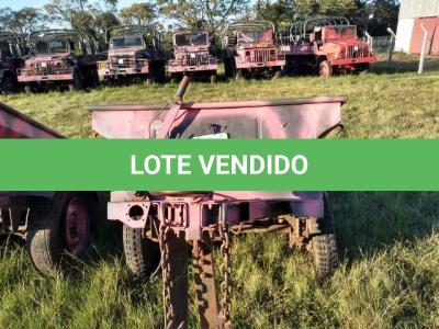 LOTE 027 - REBOQUE, MARCA SANVAS / MODELO MK 250W, ¼ Ton, 2 Rodas ; ANO: 1974 CHASSI: 08575